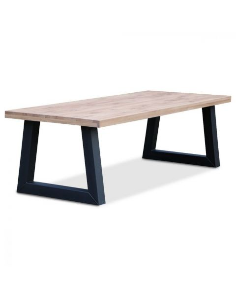 Moderne Tafel Eikenhout Raw