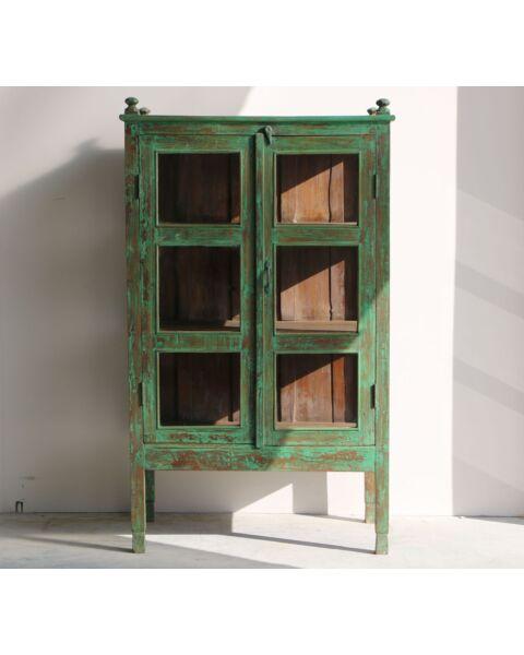 wooden cabinet groen india