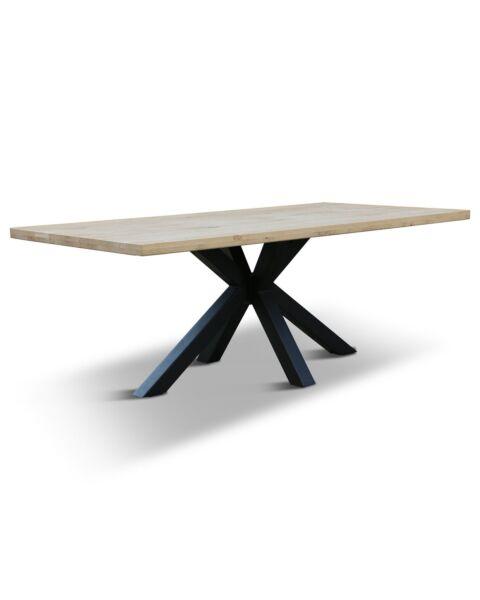 eiken tafel matrix poot