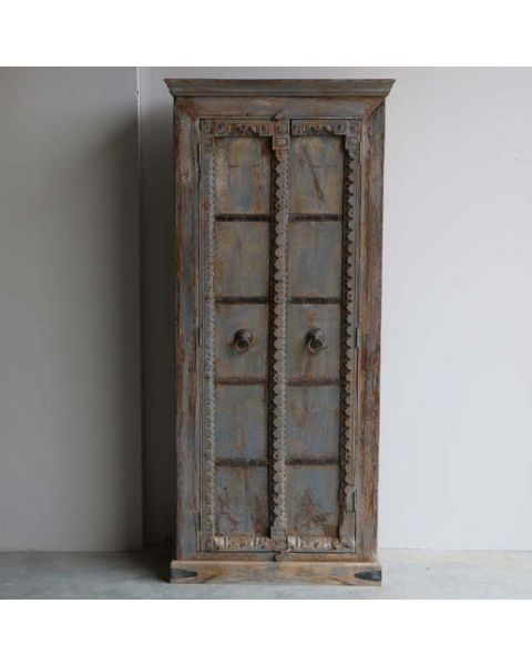 India Buffetkast Oud Hout