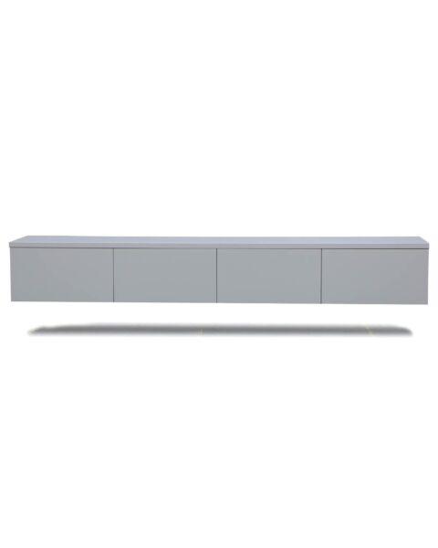 Modern tv dressoir zwevend grijs
