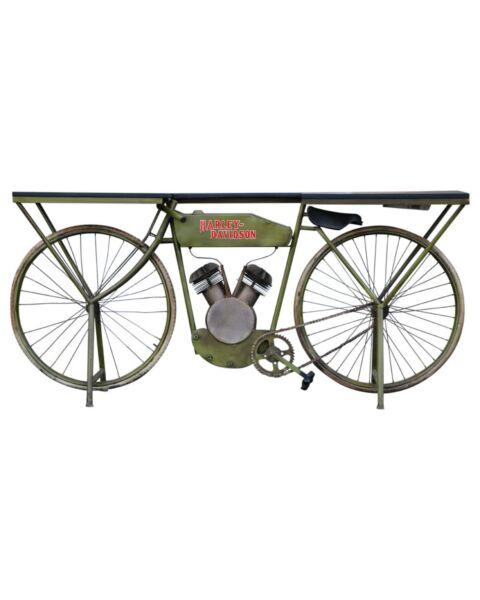 Bike Bar Counter Green