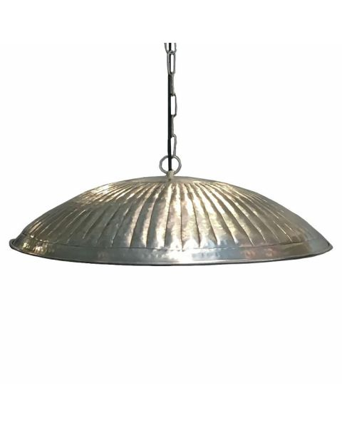 Hanglamp Silver Schotel