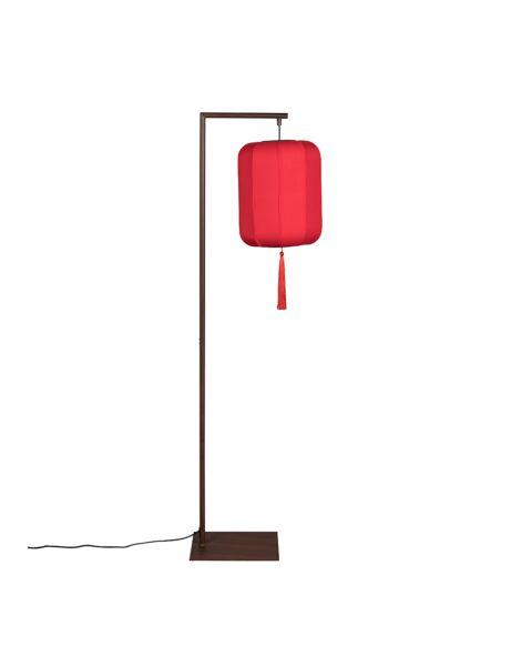 dutchbone vloerlamp suoni rood
