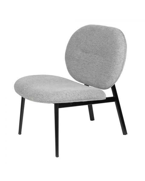 zuiver lounge chair spike grey