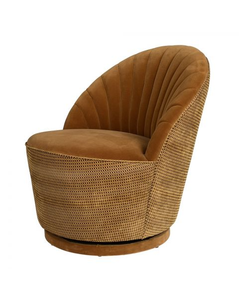 dutchbone lounge chair madison whiskey