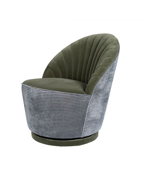dutchbone lounge chair madison olive