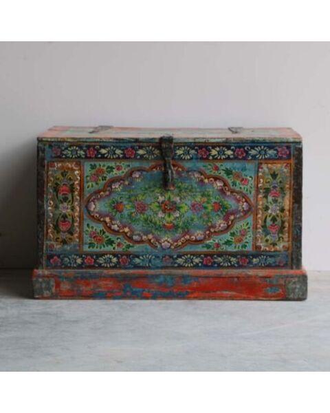 houten box uit india