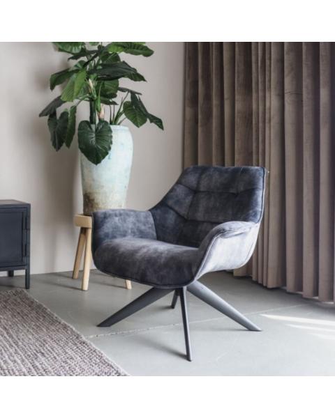 fauteuil sandy grey