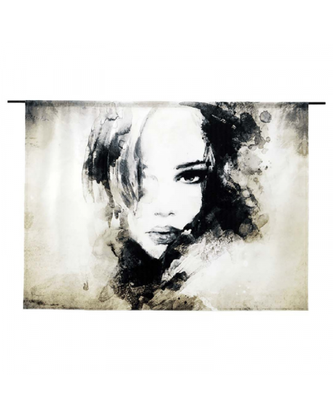 Urban Cotton Wandkleed A Womens Face Large