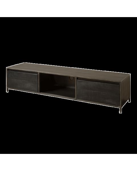 Industriële TV-dressoir Paterno 180cm | Zen Lifestyle