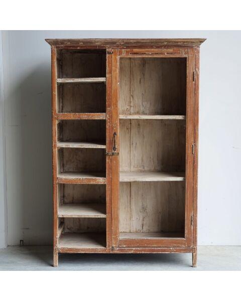 almirah wandkast oud hout