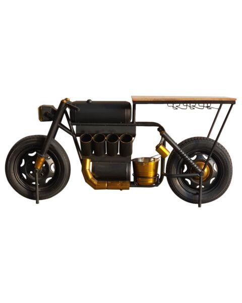 Barkast motor bike undustrieel