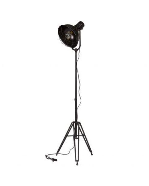 BePureHome Spotlight Staande Vloerlamp Zwart