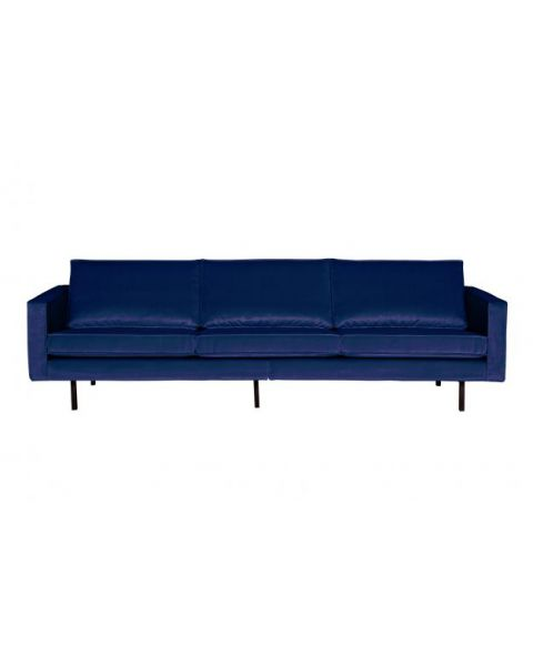 Rodeo Bank 3-zits Velvet Dark Blue Nightshade