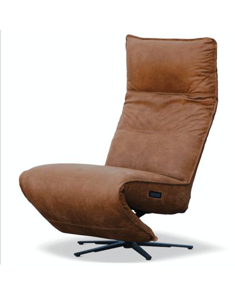 Moderne Relaxfauteuil Macumba Leer/Stof