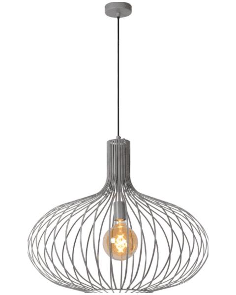 Vintage Hanglamp Manuela Grijs 50cm
