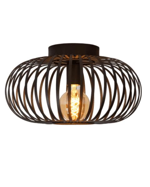 Vintage Plafondlamp Manuela Zwart