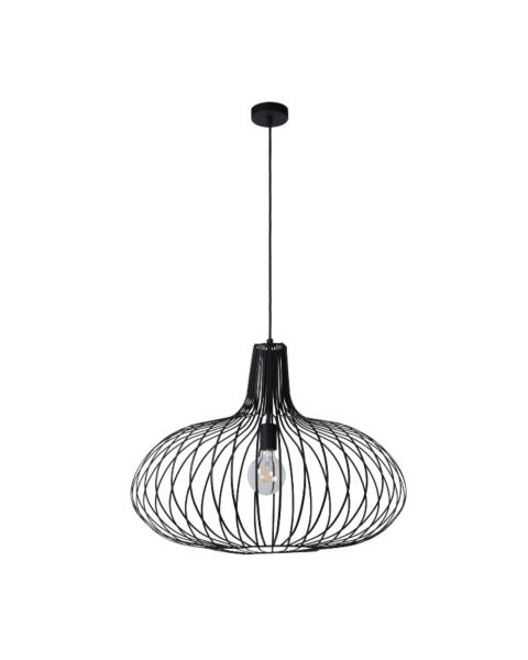 zwarte draad hanglamp