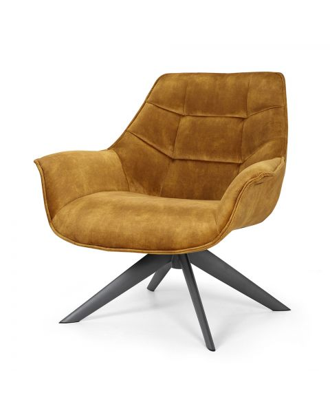 fauteuil sandy gold