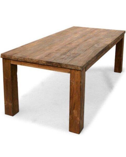 eetkamertafel hout