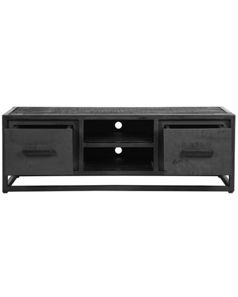 LABEL51 Tv-meubel Chili Zwart Mangohout