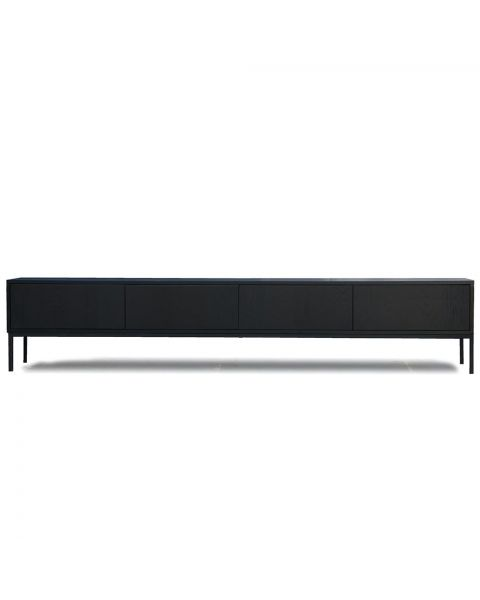 tv meubel zwart wenge 240cm dressoir