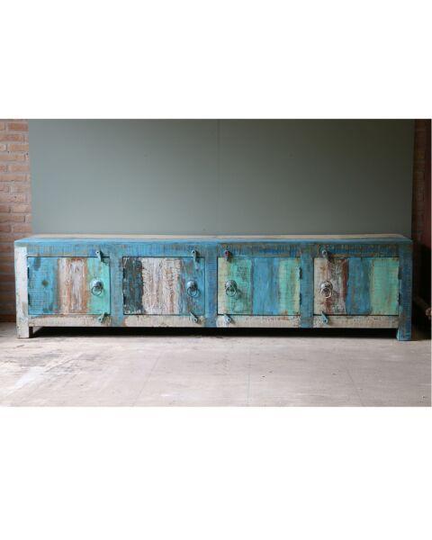 sloophout tv-meubel