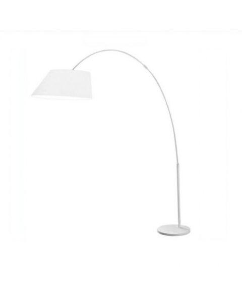 Vloerlamp Arc wit