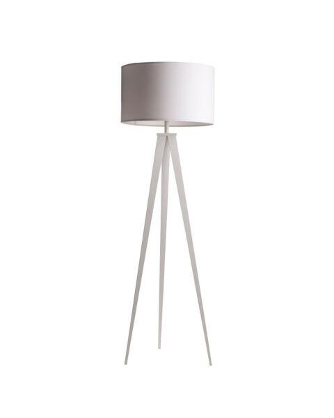 Vloerlamp Tripod wit