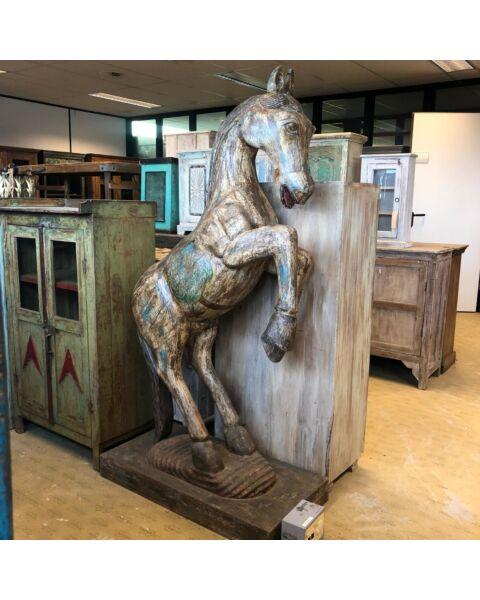 houten paard uit india