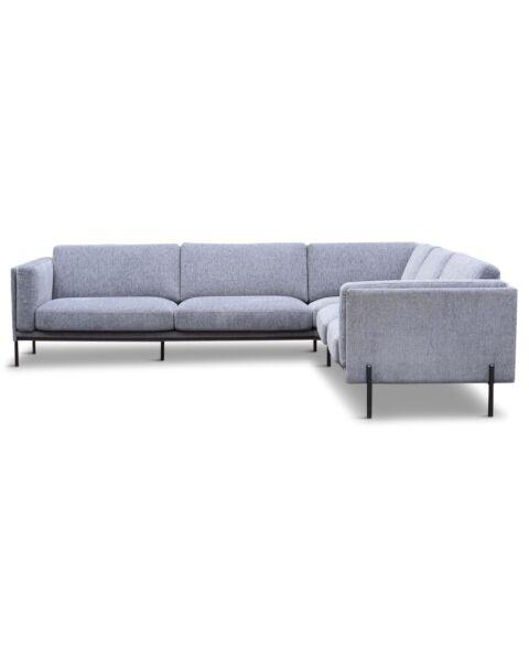 design hoekbank grijs
