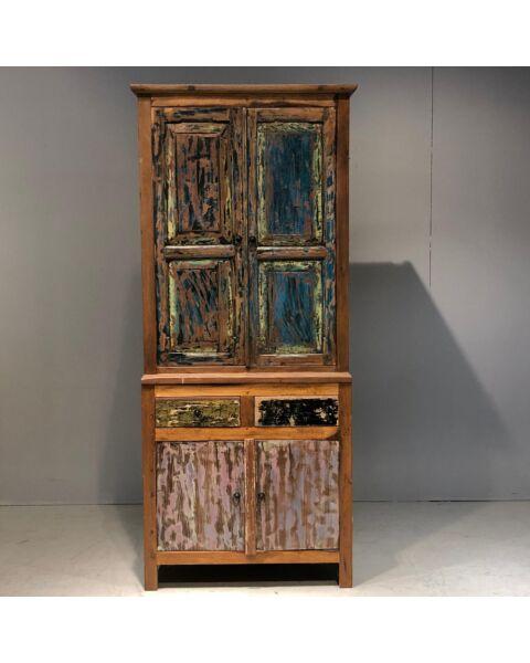 Houten Bali Cabinet