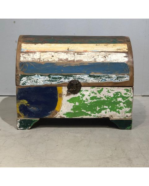Meerkleurig Houten Box