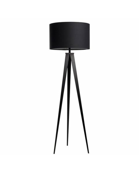 Vloerlamp Tripod Zwart