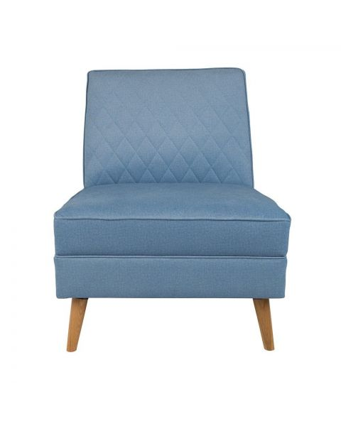 Zuiver Fauteuil Lazy M Blauw