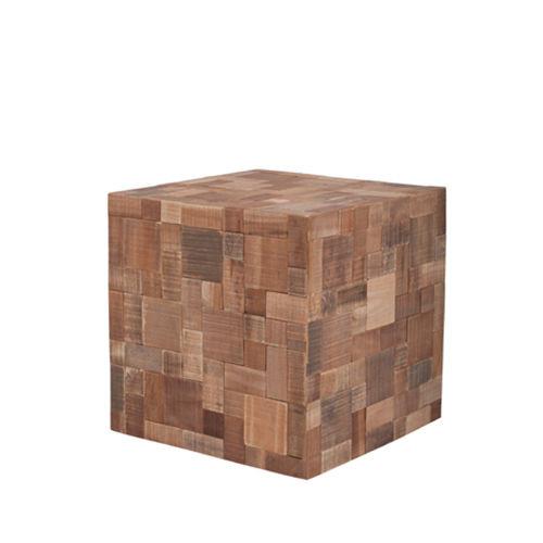 Bijzettafel kubus hout kopen online internetwinkel - Winkel kubus ...