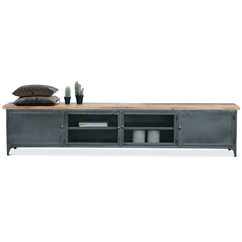 - Industrieel TV meubel Mudd