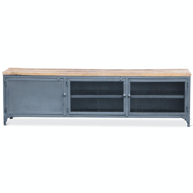 - Industrieel tv - meubel Mudd