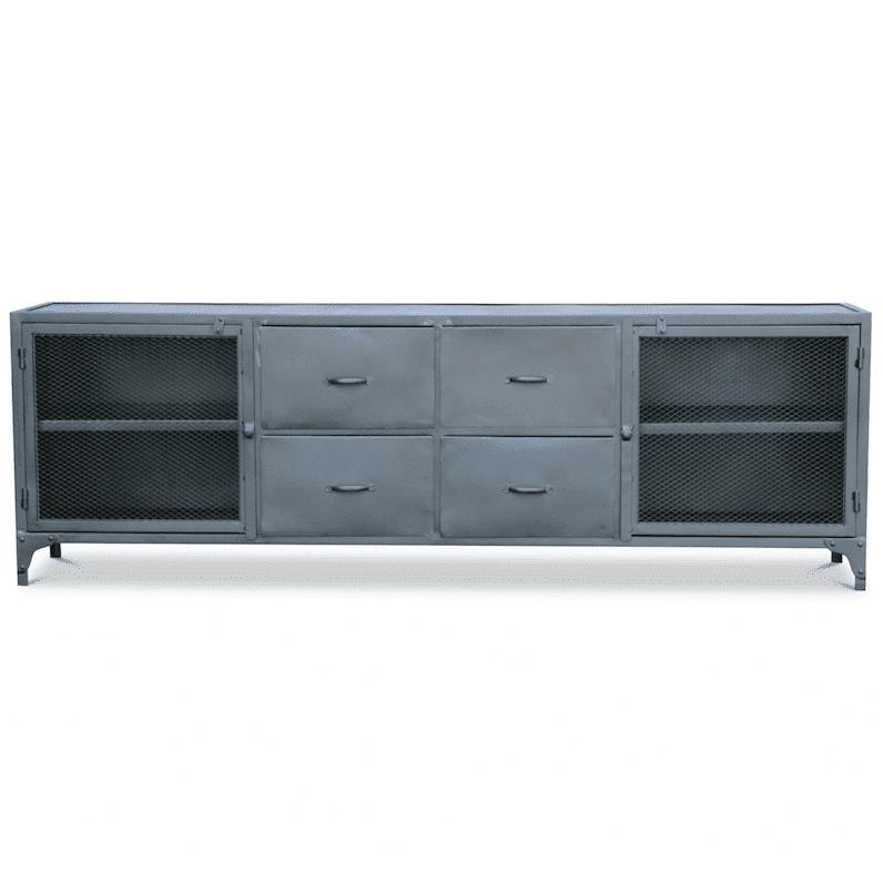 - Metalen TV meubel Budd